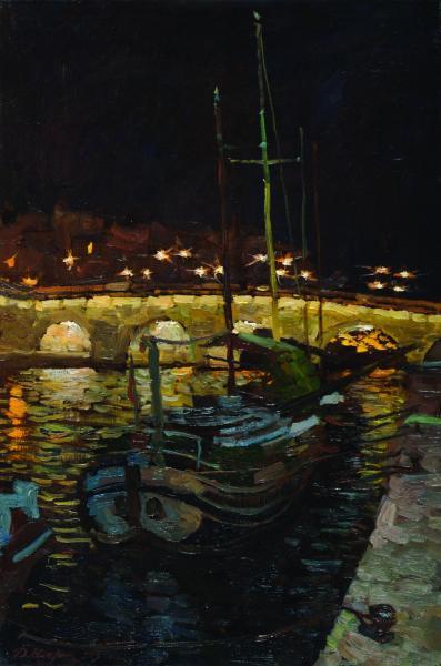Дмитрий Шмарин. Ночной Париж