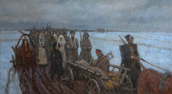 Дмитрий Шмарин. Ледяной поход