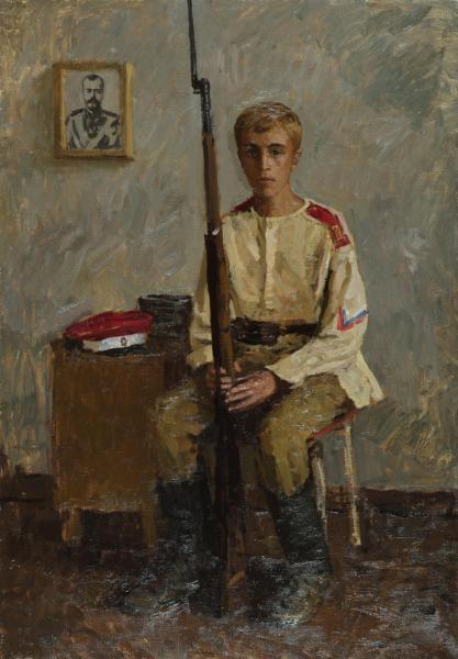 Дмитрий Шмарин. Юный белогвардеец