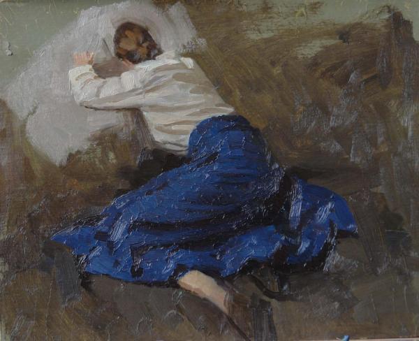 Дмитрий Шмарин. Плачущая казачка