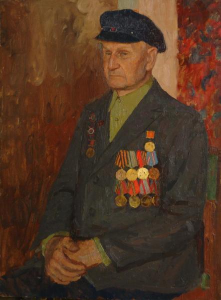 Дмитрий Шмарин. Мой дедушка. Ветеран войны Подгоров Н.Н.
