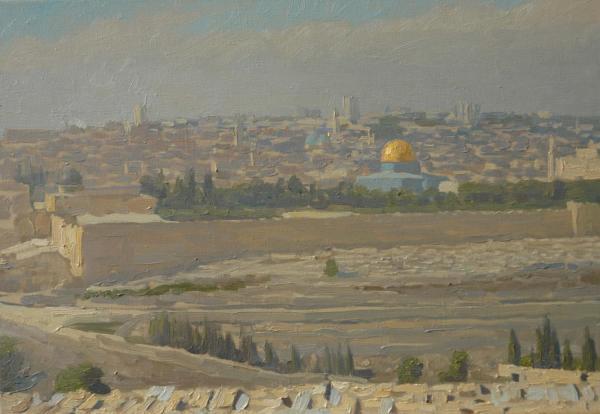 Дмитрий Шмарин. Святой Иерусалим. Вид с Елеонской горы
