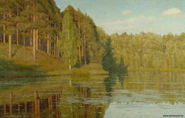 Дмитрий Шмарин. Вечер на озере