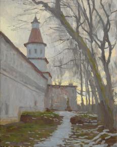 Дмитрий Шмарин. У стен Ново-Иерусалимского монастыря