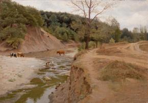 Дмитрий Шмарин. Горная река