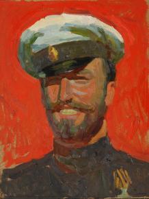 Дмитрий Шмарин. Офицер-марковец