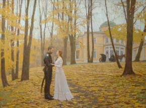 Дмитрий Шмарин. Прощание. Осень 1919.